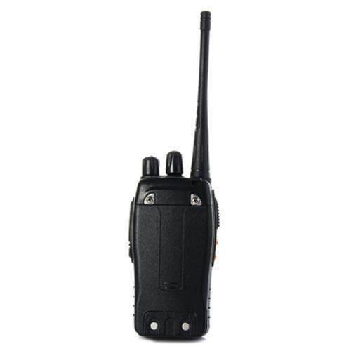 BAOFENG BF-888S UHF WALKIE TALKIE 16 CHANNELS WITH FLASH LIGHT (BLACK), Black (888S)