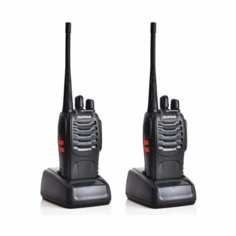 Harga BAOFENG BF-888S Walkie Talkie Two-way Portable CB Radio (2 Unit)