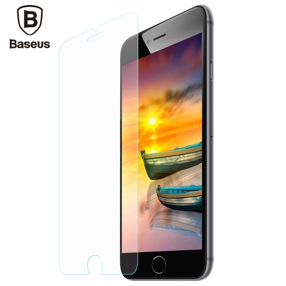 ซื้อ Baseus 9H 2Mm Transparent Non Full Screen Light Thin Protective Tempered Glass Film For Iphone 7 Plus 5 5 Inch Intl ออนไลน์ จีน
