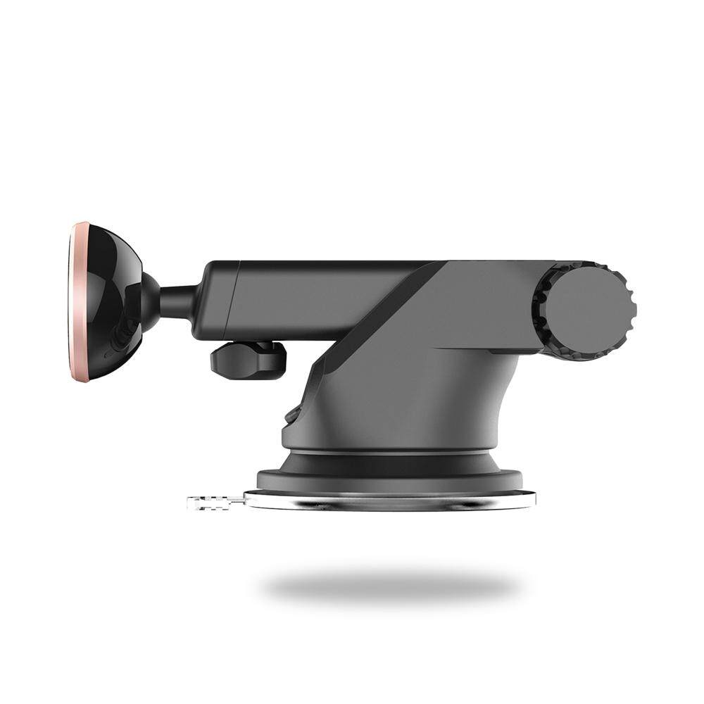 Baseus Solid Series Telescopic Magnetic Suction Bracket Car Mount Phone Holder - intl .