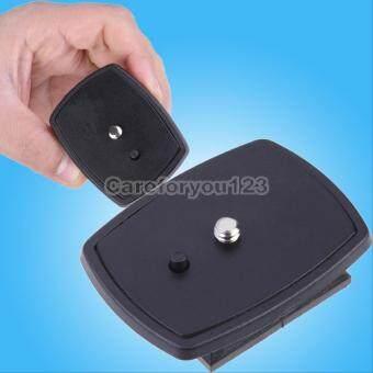 Black DSLR SLR Camera Tripod Quick Release Plate Screw AdapterMount For Sony