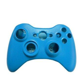 Harga Blue Replacement Case Shell & Button Kit for Microsoft Xbox 360Wireless Controller