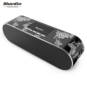 Bluedio AS-BT (Air) Wireless Bluetooth 4.1 Speaker with Mic (Black)