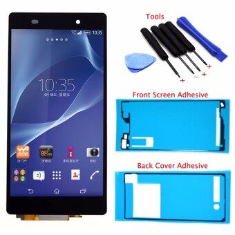 Bluesky LCD Display Touch Screen Digitizer Assembly+Back Cover Adhesive+Screen Adhesive+Tools For Sony Xperia Z2 D6502 D6503 D6543 L50W