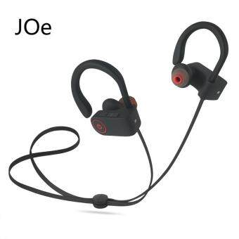 Bluetooth 4.1 Sport Earphone Handfree Wireless Bluetooth HeadsetEarphones with Mic Sports Ear-hook Bluetooth Earphone(Black)