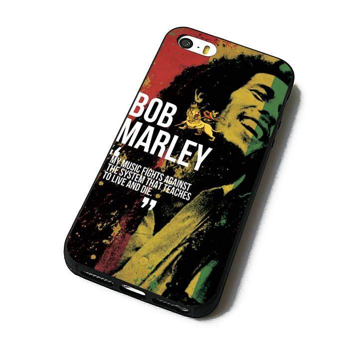 bob marley 5 (3) phone case back cover for iPhone 5 5s SE - intl