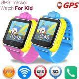 โปรโมชั่น Boy S Sos 3G Gprs Locator Tracker Anti Lost With Camera Smart Watch Color Blue Kisnow
