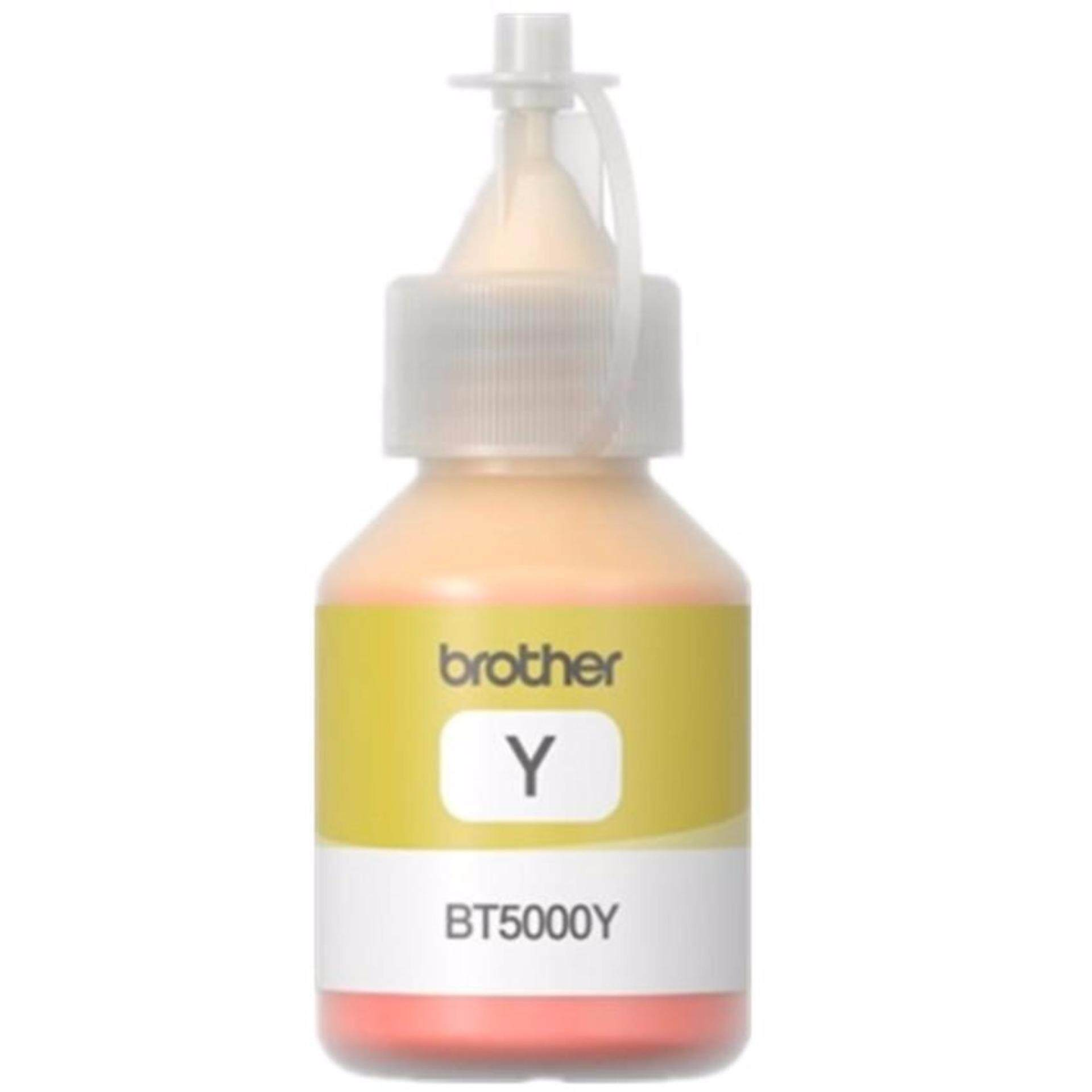 BROTHER BT5000 YELLOW ORIGINAL INK FOR PRINTER DCP-T300, DCP-T500W, DCP-T700W, MFC-T800W