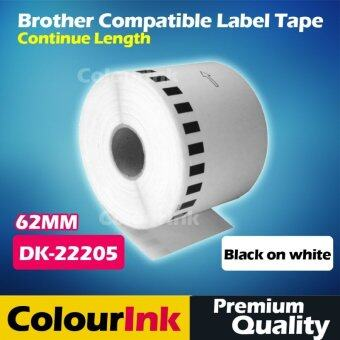Harga Brother Compatible Label Tape DK-22205 (62mm) QL550/570/700/720