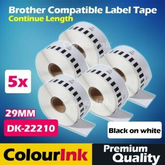 Harga Brother Compatible Label Tape DK-22210 x5pcs (29mm)QL550/570/500/720
