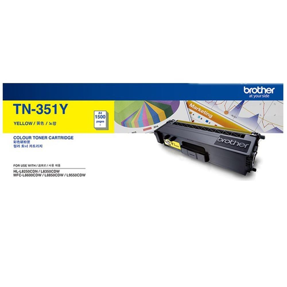 Brother TN-351 Yellow Toner
