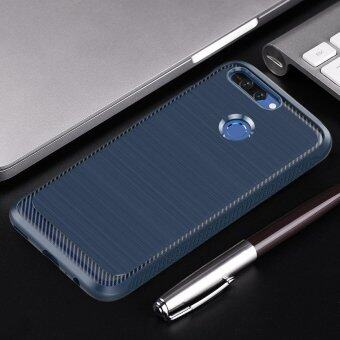 Brushed TPU Tough Rugged Armor Carbon Fiber Texture Case ShockproofAnti Skid Soft Cover for Huawei Honor V9 Honor 8 Pro