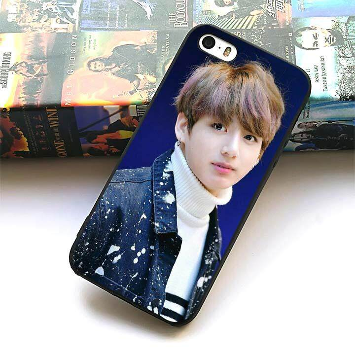 BTS Jungkook Kpop silicone soft phone case for Apple iPhone 5 5s SE - intl