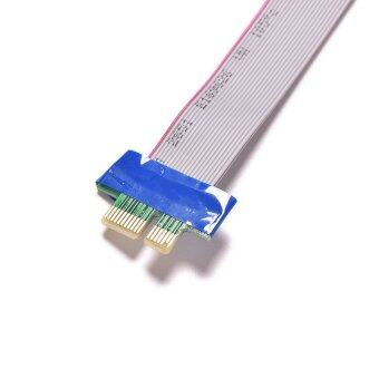 Buytra PCI-E Riser Card Extension Ribbon Flex Cable
