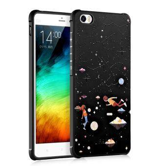 BYT Silicon Debossed Printing Cover Case for Xiaomi Mi Note