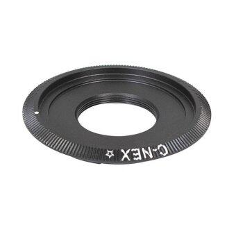 Harga C-NEX Adapter ring for C mount Lens to Sony NEX E Camera NEX-5NEX-6 A6000 A7