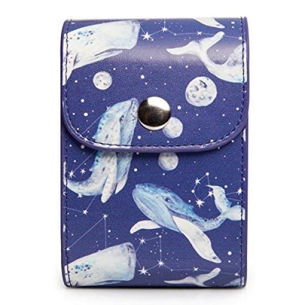CAIUL Kompatibel Mini Foto Kasus Tas untuk Menyimpan Film dan Foto Yang Diambil Oleh Fujifilm Instax Mini 8 8 + 9 7 S 70 90 25 26 50 S (Ikan Paus) -Internasional