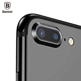Harga Cameras Smartphone Lenses Baseus Paste Type Metal Lens ProtectionRing For Iphone 7 Plus(Black)