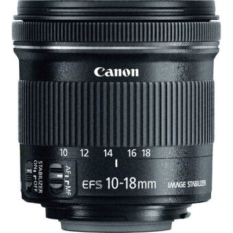 Harga Canon EF-S 10-18mm f/4.5-5.6 IS STM Lens