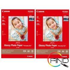 CANON GP-508 A4 (20 PCS) GLOSSY PHOTO PAPER X 2 PACKS Malaysia