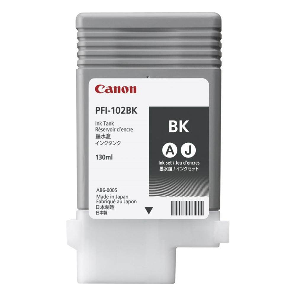 Canon PFI-102 Black Ink