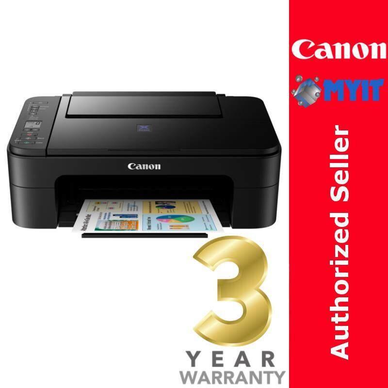 Canon PIXMA E3170 Inkjet Printer A4 WiFi Print Scan Copy 3-in-1 All-in-One