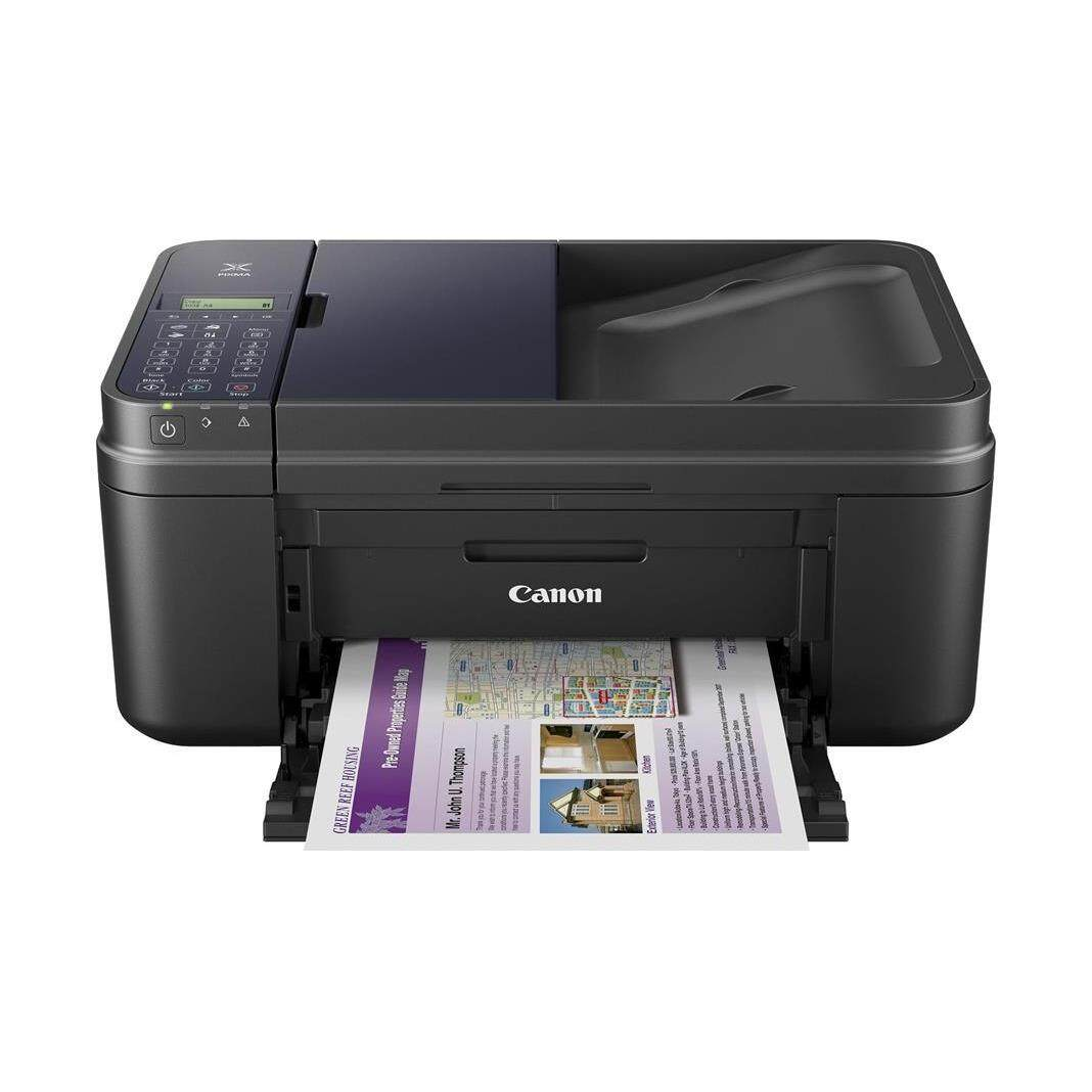 Canon PIXMA E480 Inkjet Printer A4 WiFi Print Scan Copy Fax 4-in-1 All in One