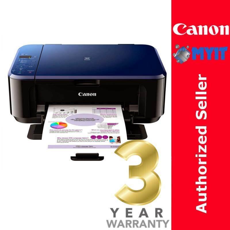 Canon PIXMA E510 Inkjet Printer A4 Photo Print Scan Copy 3-in-1 All in One
