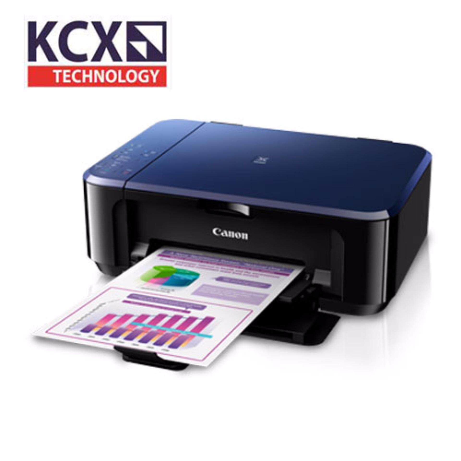 Canon Pixma E560 Ink Efficient Printer - Print, Scan, Copy