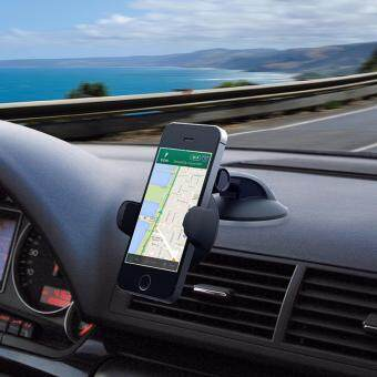 Malaysia Prices Car Phone Mount Holder, Windshield / Dashboard Universal Car Mobile Phone cradle for iOS / Android Smartphone and More