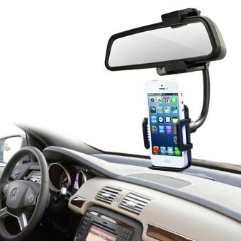 Car rearview mirror mobile phone holder sucker multifunction car down after mirror creative seat universal GPS navigation Bracket
