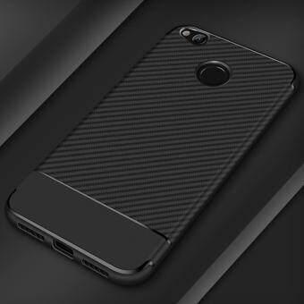 Carbon Fiber Shockproof Soft TPU case for Xiaomi Redmi 4X
