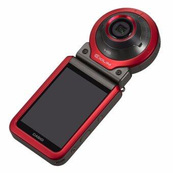 Casio FR100 Action Camera (Red)