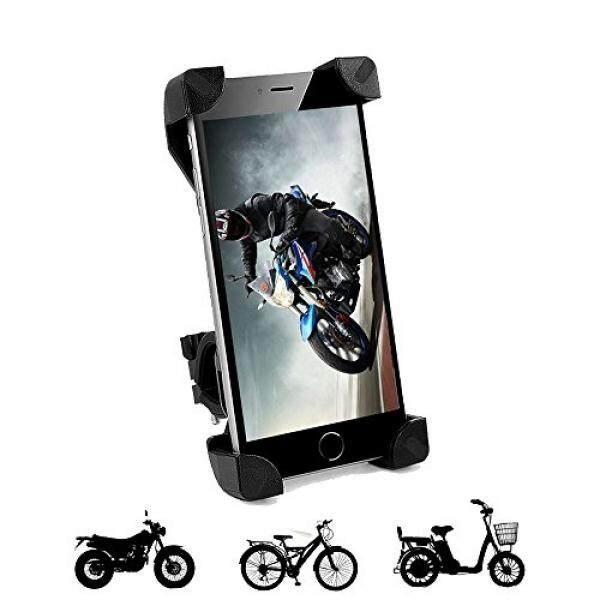 Ponsel Penahan untuk Sepeda Motor Sepeda Dudukan Dapat Disesuaikan Universal untuk iPhone 8 7 6 6 (+) 6 S 6 S Plus Samsung Galaksi S8 S7 S6 Perhubungan LG dan Kebanyakan Perangkat Lain-Internasional