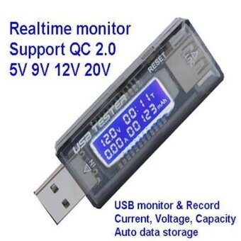 Harga Charging Monitor Doctor Usb Power Current Voltage Tester Qc Quick
