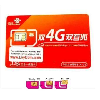 CHINA UNICOM ????- PREPAID SIMCARD FOR TRAVELLER