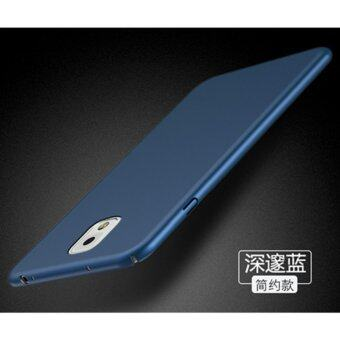 Classic High Quality 360 ultra-thin matte PC hard Protection Highquality classic Cover Case For S amsung Galaxy Note3(N9006(Blue) -intl