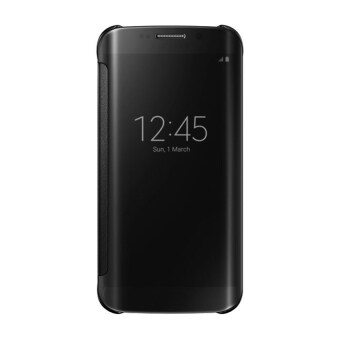 Harga Clear View Cover Case for Samsung Galaxy A9 Pro (Black)