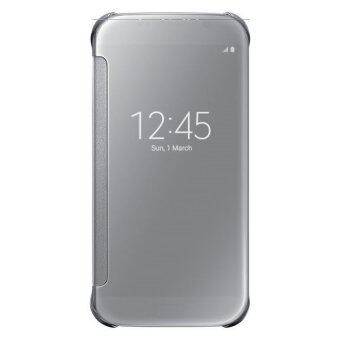 Harga Clear View Cover Case for Samsung Galaxy A9 Pro (Silver)