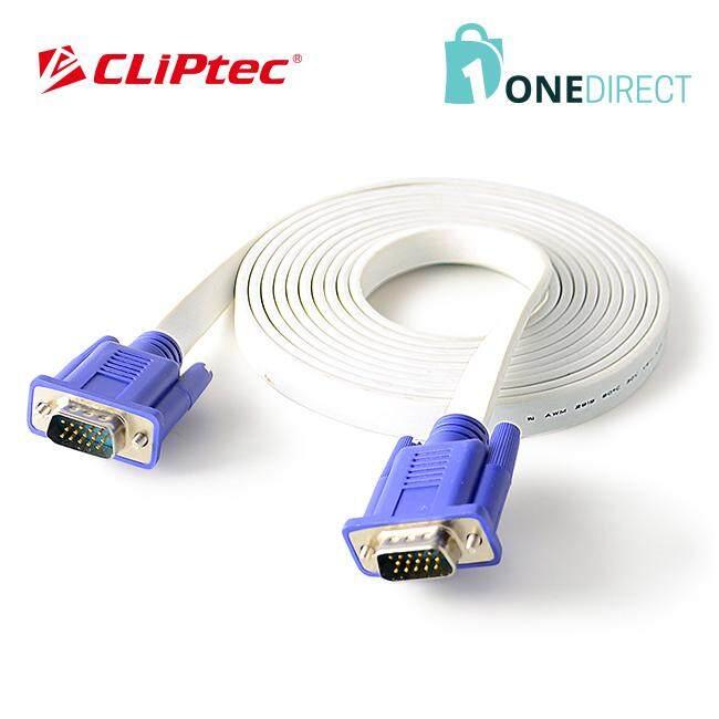 CLiPtec Slim Flat SVGA Monitor Cable 3.0 m-OCC321
