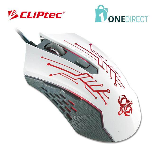 CLiPtec THEROPO 2400dpi Illuminated Gaming Mouse RGS562