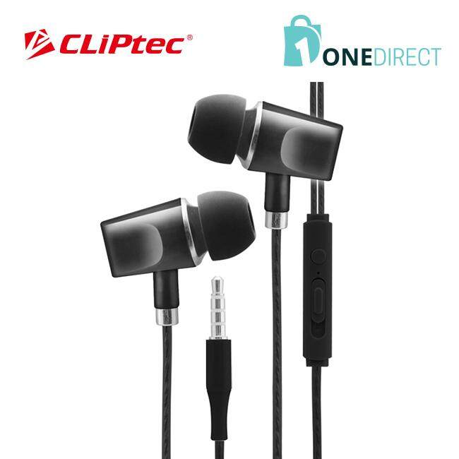 CLiPtec URBAN ART In-Ear Earphone with Mic. & Volume Control BME636