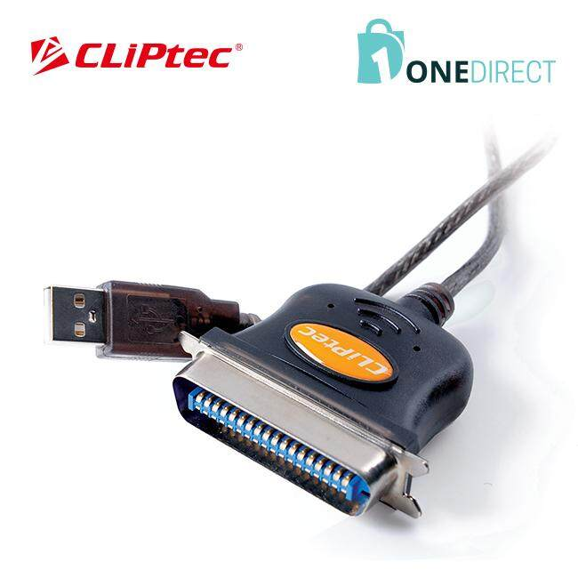 CLiPtec USB to Parallel Printer Convertor-OCB301