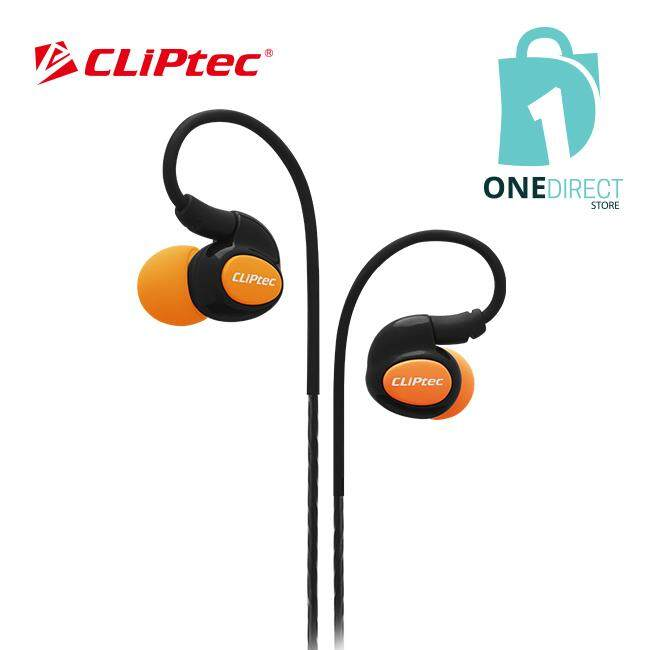 CLiPtec XTION-PACE Sports Ear Hook Earphone with Microphone BSE201