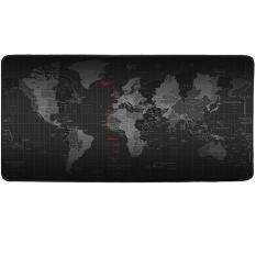 Cmhoo XXL Professional Large Mouse Pat & Computer Game Mouse Mat (35.4x15.7x0.1IN, Map) Malaysia