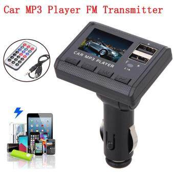 Harga coconie Car Music MP3 Player FM Transmitter Modulator Dual USBCharging SD MMC Remote