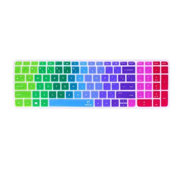 Warna-warni Keyboard Sarung untuk 15.6 HP Pavilion 15-AB 15-AC 15-ae 15-AF 15-ak 15-15 -Seperti 15-AU 15-AX 15-Ay, HP Pavilion 17 17 T, HP OMEN 17, HP 17.3 Bisnis Laptop Game, HP ENVY 7, HP Envy 17 17 T-Internasional