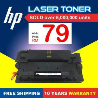 Compatible Toner DrToner HP - CE255A - 55A (Mono/Black) - LaserJet Enterprise M525dn / M525f / P3015 / P3015d / P3015dn / M525c / M521dw - Low Cost & Affordable