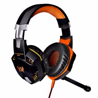 Harga Computer Stereo Gaming Headphones Kotion EACH G2000 Best casqueDeep Bass Game Earphone Headset with Mic LED Light for PC Gamer