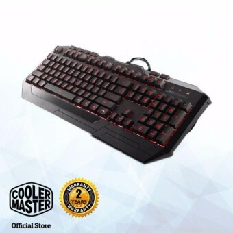 Cooler Master Devastator Gaming Keyboard & Mouse Combo (Red LED) Malaysia